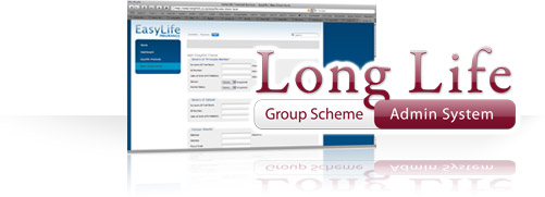 Long Life Group Scheme Admin System